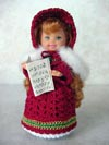 Caroler Girl PPS-15 Holiday Collection