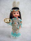 Native American PPW-03 Dolls Around the World Collection
